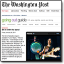Going Out Gurus, Washington Post